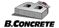 B Concrete, Inc. Logo